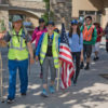 Lake Forest Church Members Walk to Mass on Immigration in Los Angeles