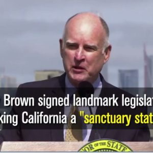 California Becomes 'Sanctuary State' in Rebuke of Trump Immigration Policy
