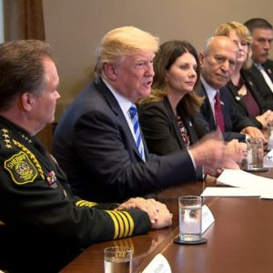 Trump blames Democrats for Laws that Force Immigration Agents to Break up Families