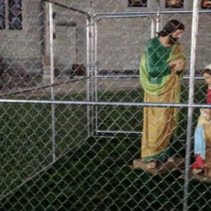 Indianapolis Church Puts Holy Family In Detention Center To Protest Immigration Policy