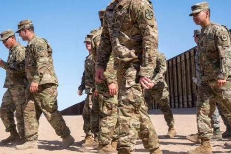 Deployed Inside the United States: The Military Waits for the Migrant Caravan