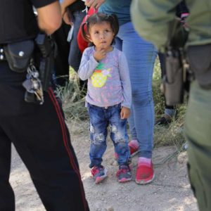 Thanksgiving in immigration shelters as number of detained children hits record