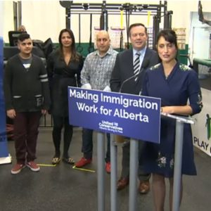 UCP Leader Lays out Strategy to Overhaul Immigration if Elected