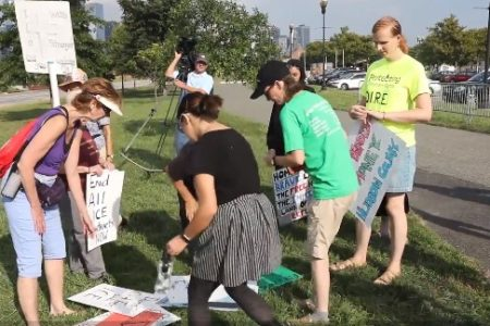 ICE Detainees at Bergen County Jail Draw Activists' Attention