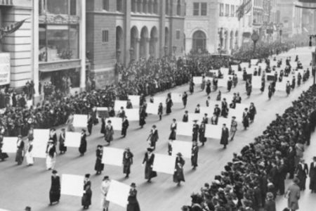 Looking Back at 1919: Immigration, Race, and Women's Rights, Then and Now