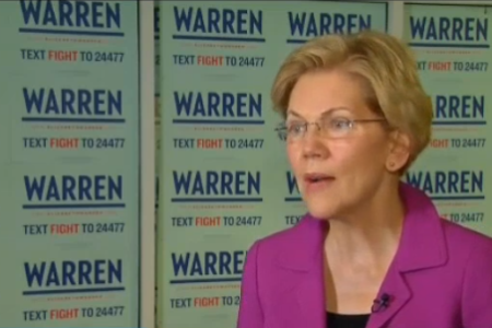 Catching Up With Elizabeth Warren on Immigration and Health Care