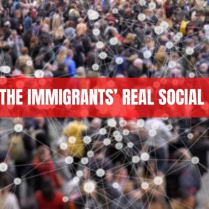 CORONA: THE IMMIGRANTS' REAL SOCIAL DISTANCE