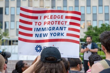 """Immigrant Groups Sue Trump Administration Over """"Last Ditch"""" Rule Change"""