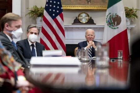 Biden Tries To Reset Relationship With Mexican President