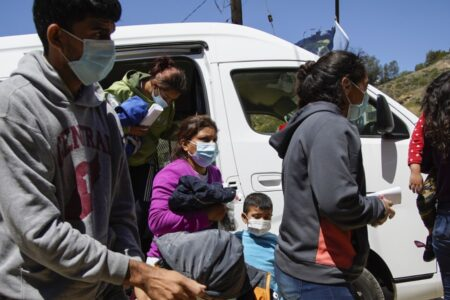 Asylum-Seeking Families Are Being Expelled To Tijuana After Flights From Texas