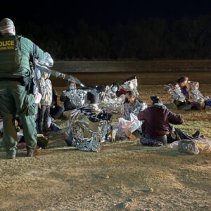 EXCLUSIVE VIDEO: 200 Migrants Caught Before Dawn; South Texas Border Agents Say 'They're Everywhere'