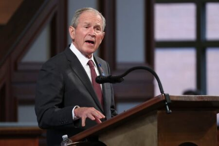 George W. Bush Lobbies For Bipartisan Immigration Reform In Rare Political Statement