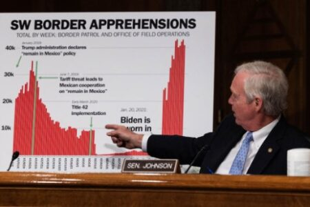 Immigration Experts Say GOP Senators Questioned DHS Secretary With Misleading Chart