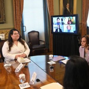 Kamala Harris Hosts 'Dreamers' At White House And Calls For Immigration Reform