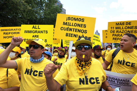 Dems Bet Their Political Chips On Party-Line Immigration Reform