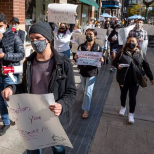 Marchers Press Dems For 'Citizenship For All': Small Crowd Rallies In Downtown Spokane For Immigration Reform